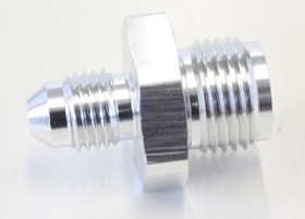 "<strong>Inverted Seat Adapter 5/8""-18 to -4AN</strong> <br />Silver Finish"