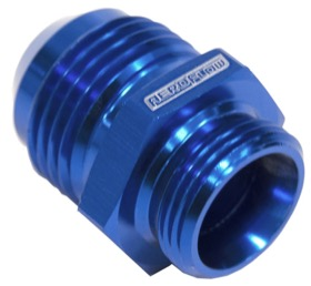 <strong>Breather Adapters -10AN</strong><br /> Screw in for Nissan Valve Covers with threaded hole, Blue finish