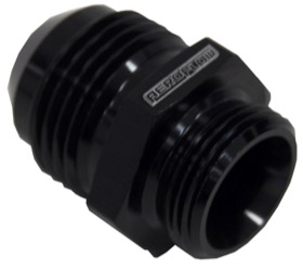 <strong>Breather Adapters -10AN</strong><br /> Screw in for Nissan Valve Covers with threaded hole, Black finish