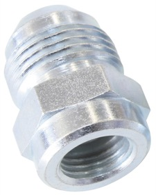 <strong>Female Inverted Flare to AN Adapter 1/2&quot;-20 to -8AN</strong><br />Use with OEM Hard Lines