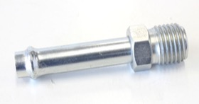 "<strong>Straight Holley / Stromberg Inlet Fitting </strong><br />1/2"" -20 Thread to 5/16"" Barb"