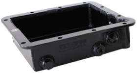 "<strong>3"" Deep Fabricated Transmission Pan </strong><br /> Black Finish. Suit Ford C4"