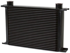 <strong>Engine Oil or Transmission Oil Cooler </strong><br />330mm L x 231mm H x 51mm D. -10 Female ORB Threads.