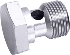 "<strong>Alloy Banjo Bolt 1/2"" x 20 UNF</strong> <br />Silver Finish"