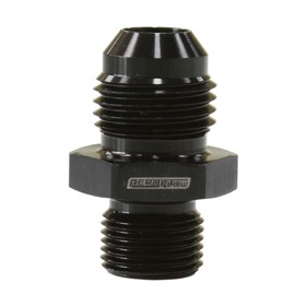 <strong>Metric to Male Flare Adapter M12 x 1.0mm to -6AN </strong><br />Black Finish