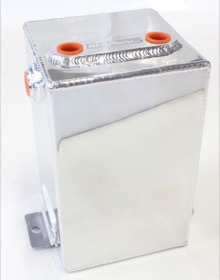 "<strong>Universal Fabricated Alloy Tank</strong><br /> 3.1L capacity, 5"" L x 5"" W x 8.25"", Polished finish"
