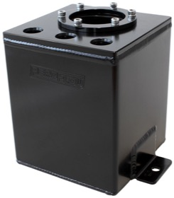 <strong>Single EFI Pump Surge Tank - Black</strong><br />Use With AF49-1014 Fuel Pump