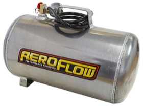 <strong>5 Gallon Aluminium Portable Air Tank (125 PSI Max)</strong><br /> Includes Valve, Air Line & Pressure Gauge.