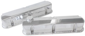 <strong>Fabricated Aluminium Valve Covers</strong> <br />Polished Finish. Suit Ford 289-351 Windsor