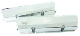 <strong>Fabricated Billet Valve Covers</strong><br /> Polished Finish. Suit Holden Early V8