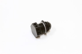 <strong>Bolt In Breather Bulkhead -10</strong><br /> Black Finish