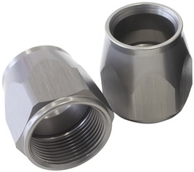 <strong>Kryptalon Replacement Socket Nut</strong><br /> -16AN, Titanium Finish