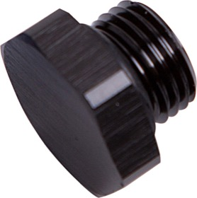 <strong>ORB Port Plug -3AN </strong><br />Black Finish