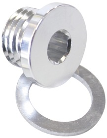 <strong>Metric Port Plug M16 x 1.5</strong><br /> Silver Finish.