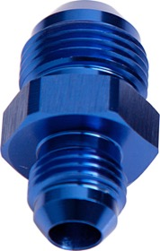 <strong>Male Flare Reducer -8AN to -6AN</strong><br /> Blue Finish