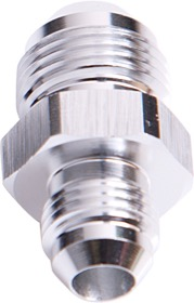 <strong>Male Flare Reducer -8AN to -6AN</strong><br /> Silver Finish