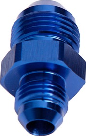 <strong>Male Flare Reducer -12AN to -4AN</strong><br /> Blue Finish