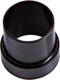 "<strong>AN Aluminium Tube Sleeve 1/4""</strong> <br /> Black Finish. Suits Aeroflow, Moroso & Russell Tubing"