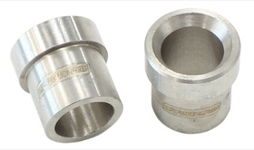 <strong>AN Aluminium Tube Sleeve 5/16&quot;</strong> <br />Stainless Steel Finish. Suits Aeroflow, Moroso & Russell Tubing