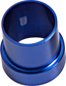 <strong>AN Aluminium Tube Sleeve 5/16&quot;</strong> <br /> Blue Finish. Suits Aeroflow, Moroso & Russell Tubing
