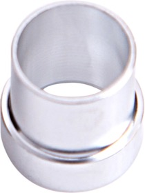 <strong>AN Aluminium Tube Sleeve 3/8&quot;</strong> <br /> Silver Finish. Suits Aeroflow, Moroso & Russell Tubing