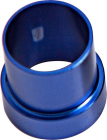 <strong>AN Aluminium Tube Sleeve 1&quot;</strong><br /> Blue Finish. Suits Aeroflow, Moroso & Russell Tubing