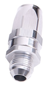 <strong>Male AN Taper Swivel Straight Hose End -10AN to -10AN</strong><br /> Silver Finish. Suit 100 & 450 Series Hose