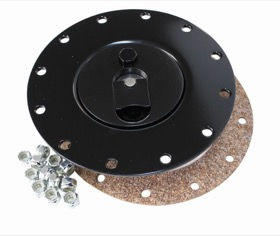 <strong>Billet Fuel Cell Cap Assembly</strong><br /> Suits All RCI Fuel Cells, Black Finish