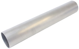 <strong>Straight Aluminium Tube 3-1/2&quot; (88mm) Dia. </strong><br />12&quot; (300mm) Length. 5/64&quot; (2.03mm) Wall