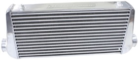 <strong>Aluminium Intercooler with 3&quot; Inlet/Outlets </strong><br />Raw Finish. 600 x 300 x 76mm