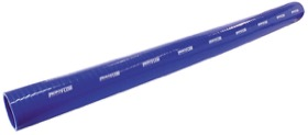 "<strong>Straight Silicone Hose 3-3/4"" (95mm) I.D </strong><br />Gloss Blue Finish. 3.3ft. (1 metre) Length"