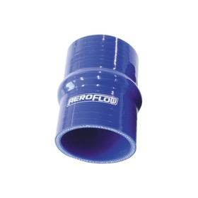<strong>Silicone Hump Hose 3&quot; (75mm) I.D</strong> <br />Gloss Blue Finish. 3-15/16&quot; (100mm) Leg