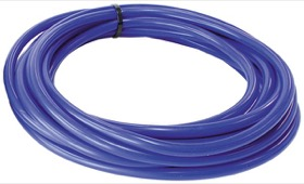 "<strong>Silicone Vacuum Hose<strong><br />3/16"" (5mm) I.D, Wall 4mm, 25 Foot (7.6m)  Roll, Blue"