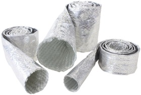 <strong>Aluminised Heat Sleeve</strong><br /> 1/4