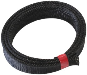 <strong>PET Flex Braid Heat Sleeve</strong><br />7.6 Meter, Up TO 1&quot I.D, Tight Weave High Coverage