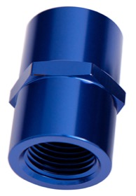 "<strong>NPT Female Coupler 1""</strong><br />Blue Finish"