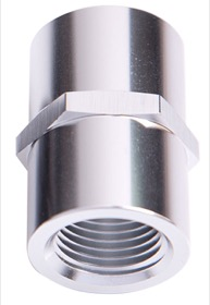 "<strong>NPT Female Coupler 1""</strong><br /> Silver Finish"