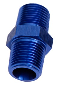 <strong>NPT Male Coupler 1/4&quot; </strong><br /> Blue Finish