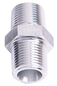 <strong>NPT Male Coupler 1/2&quot; </strong><br /> Silver Finish