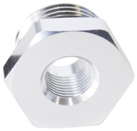 "<strong>ORB Port Reducer -10ORB to 1/8""</strong> <br /> Silver Finish."