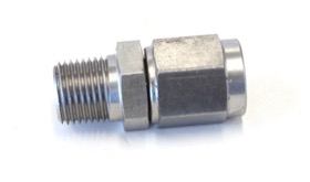<strong>Male NPT to Female AN Straight Fitting 1/8&quot; to -3AN</strong><br />Stainless Steel