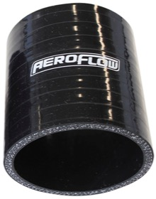 "<strong>Straight Silicone Hose 1-3/4"" (45mm) I.D </strong><br />Gloss Black Finish. 3"" (76mm) Length"