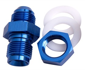 <strong>Fuel Cell Fitting -8AN</strong><br />Blue