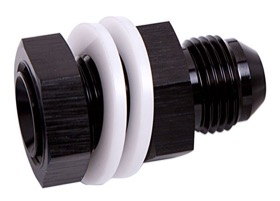 <strong>Fuel Cell Fitting -8AN</strong><br /> Black Finish