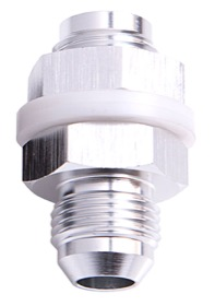 <strong>Fuel Cell Fitting -8AN</strong><br /> Silver Finish