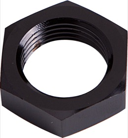 <strong>Bulkhead Nut -4AN </strong><br />Black Finish