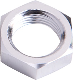 <strong>Bulkhead Nut -4AN </strong><br />Silver
