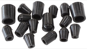 <strong>16-Piece Vacuum Blank-Off Plug Kit (Black Finish)</strong><br />