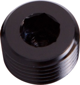 "<strong>NPT Plug 1/16"" </strong><br />Black Finish"