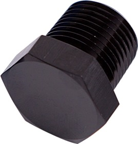 "<strong>NPT Hex Head Plug 3/4""</strong><br /> Black Finish"